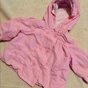 24 m / 2T Greendog Pink Light Coat